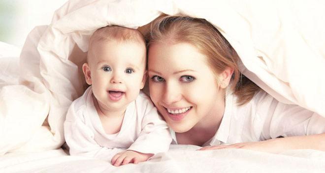 После родов лежать на животе сколько