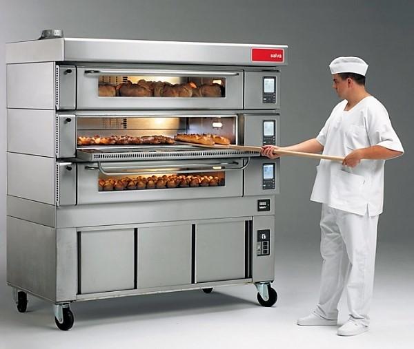 Печь производственная для выпечки хлеба