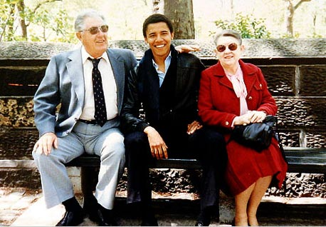 Barack obama pictures parents