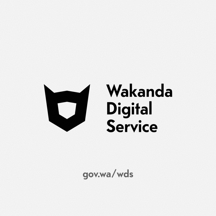 Artwork - Iconography and logo for fictional government digital service created in Affinity Designer