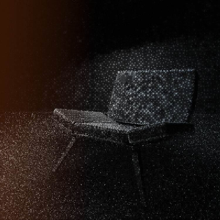 Artwork - Scene created in Cinema 4D with post effects in Pixelmator Pro