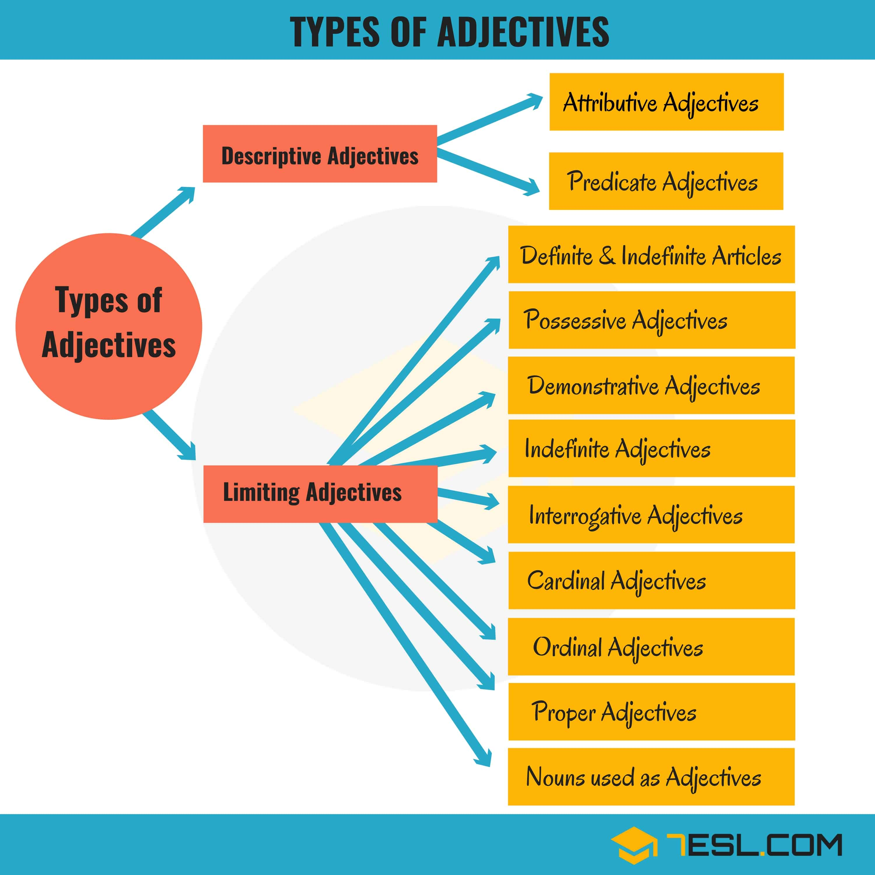 Example of limiting adjective