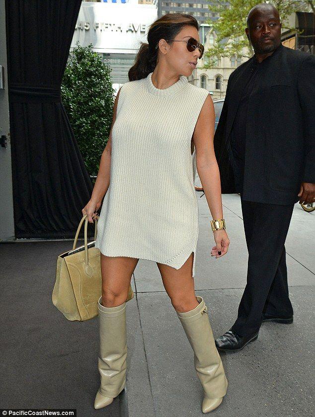 Givenchy boots kim kardashian