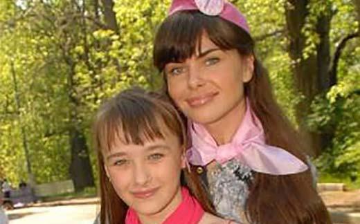 Инна Гомес и дочь Мария