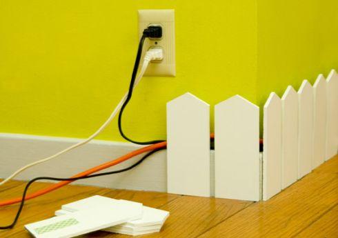 Как красиво убрать провода