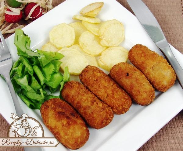 Рецепт зразы картофельные с мясом в духовке