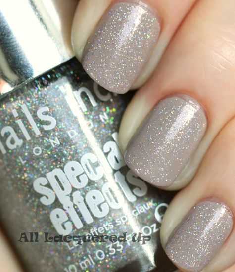 Nails inc holographic top coat review