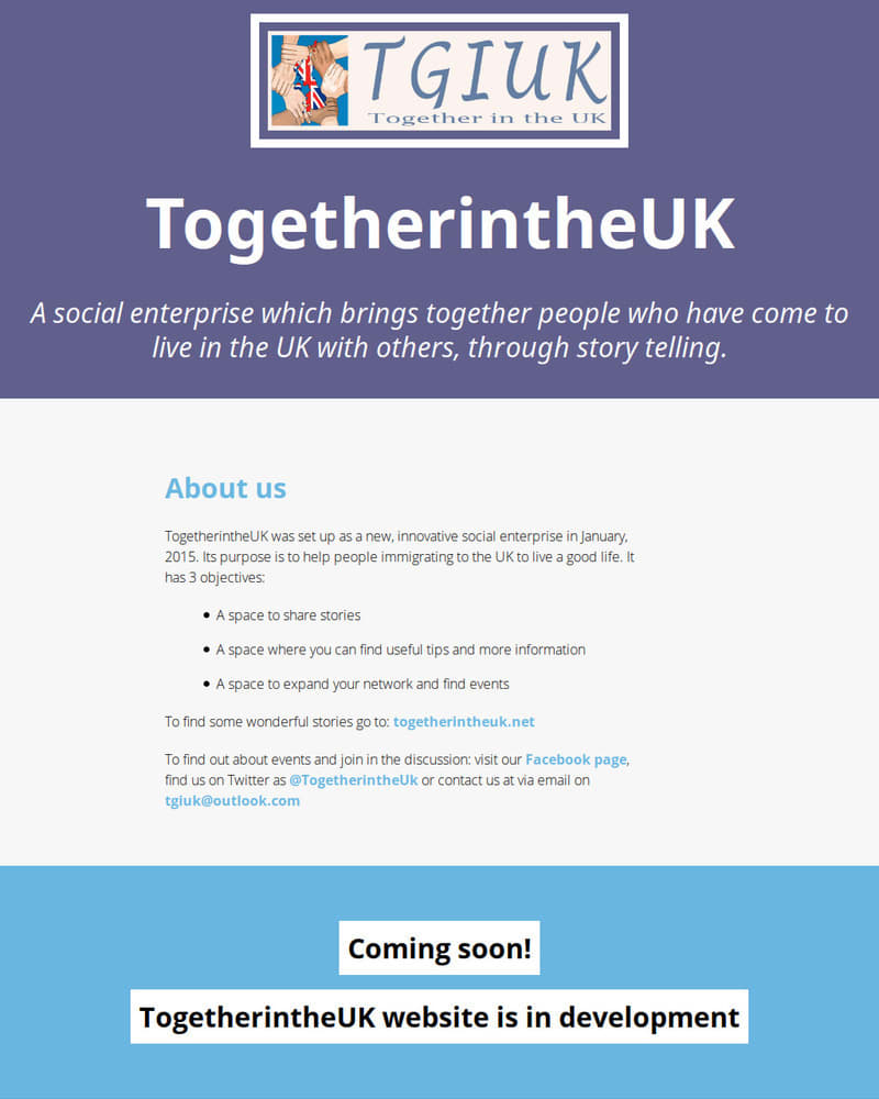 Project Image for Together in the UK