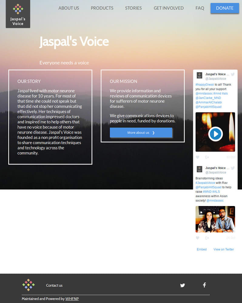 Project Image for Jaspals Voice