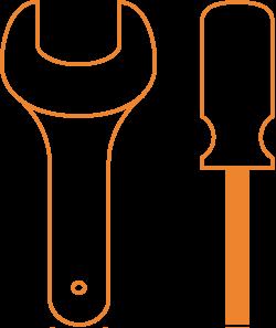 Technical skills icon image