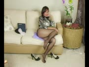 Roni in Pantyhose Tube Movie