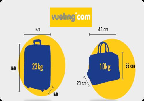 Que tipo de objetos y maletas llevar en tu viaje - Medidas maletas cabina vueling ...