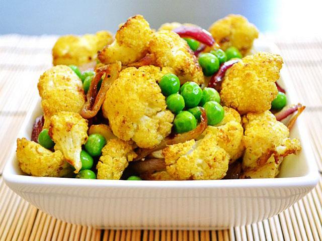 Блюда из капусты цветной замороженной
