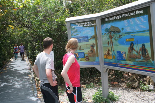 Calusa Shell Mound Trail FREE Tour