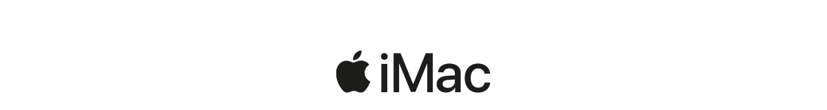 Apple iMac logotyp