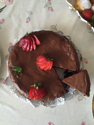 Тортик из кексов
