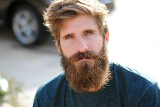 густая длинная борода