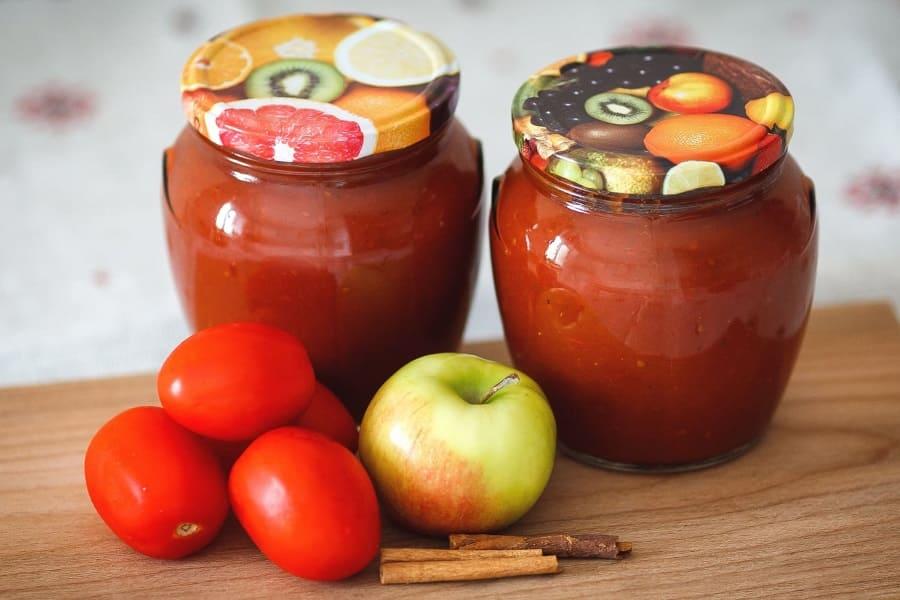 Кетчуп с яблоками рецепт на зиму