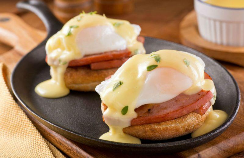 Рецепт яйца бенедикт