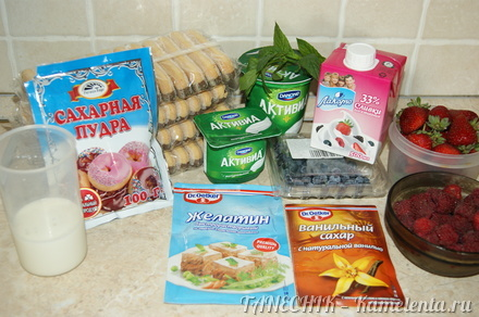 Рецепт торта с печеньем савоярди