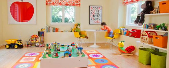 Kidu0027s Playroom Ideas