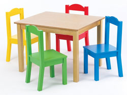 The Design Of Tot Tutors Wood Kids Table Available Here Is Simply Lovable Not Only Because It S Made Quality That You Can Easily See