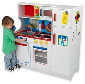 Kidkraft Deluxe Letu0027s Cook Kitchen