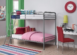 Dorel Twin Over Twin Bunk Bed