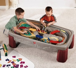 As you can see this Step2 train set includes a both the train set and play table (get latest price here) & Go Kids Play | Parentu0027s Top Rated: Best Toy Trains Sets for Kids of ...