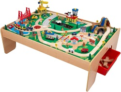 Beau It Is A MUST Buy If You Want A Quality Wooden And Complete Train Set That  Comes With A Play Table For Older Children To Play With. It Comes With 120  Durable ...