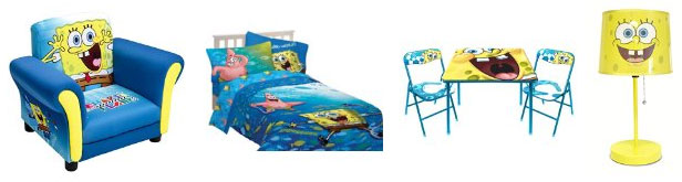 Nickelodeon-Sponge-Bob-Kids-Furniture