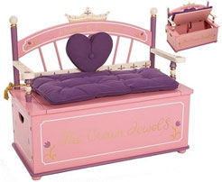 Princess-Toy-Box-and-Bench