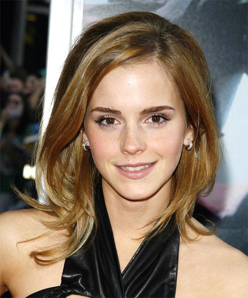 Emma watson straight hair