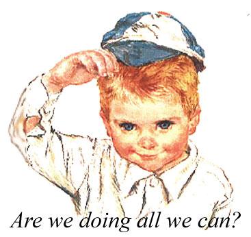 chłopiec w czapce