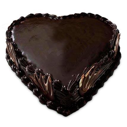 Heart Shape Truffle Cake 1Kg