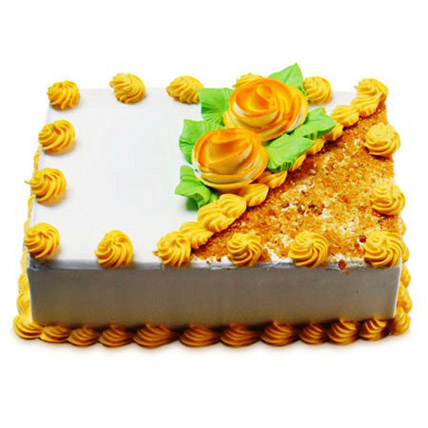 Rectangular Butterscotch Treat Half kg