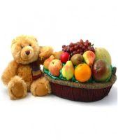 FRUITS BASKET AND BEAR