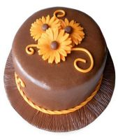 Chocolate Orange Cake Half kg