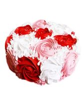 Colorful Rose Cake Half kg
