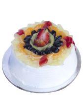 Fresh Fruit Gateau Cake Half kg