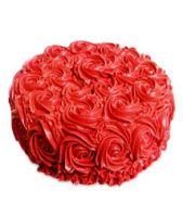 Red Rose Cake Half kg