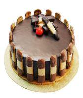 Crunchy Chocolate Cake Half kg