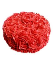 Red Rose Cake Half kg