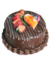 Chocolate Strawberry Cake Half kg