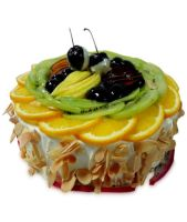 Special Fresh Fruit Cake Half kg