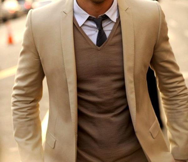 Современный деловой стиль одежды мужчин