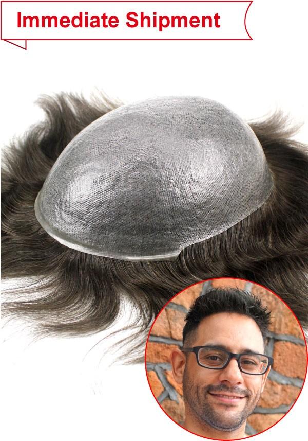 Ultra thin skin hairpiece