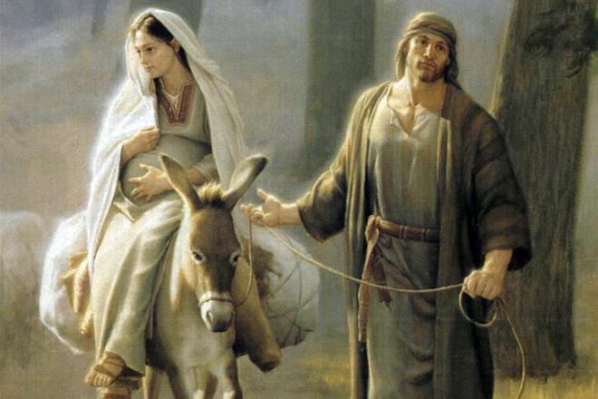 Чей сын был иисус