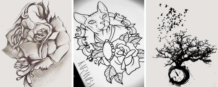 Что обозначает тату роза на руке у девушки