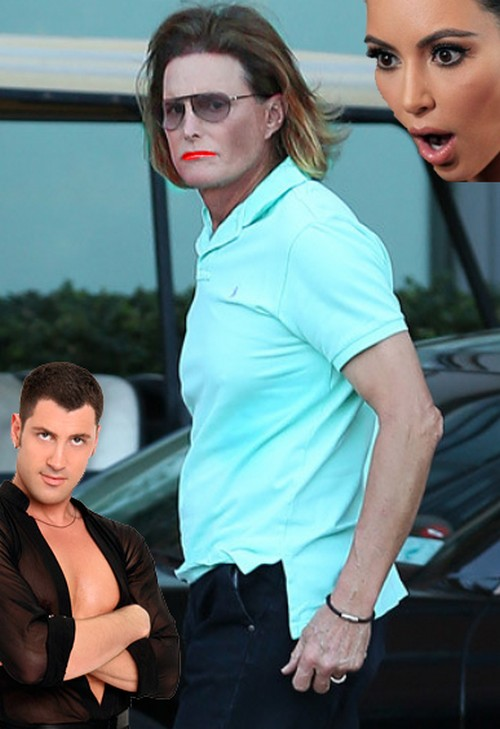 Bruce jenner dancing with the stars